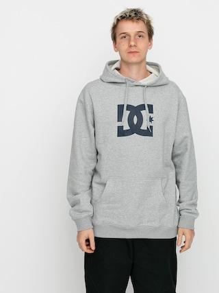 Mikina s kapucňou DC Star HD (heather grey)