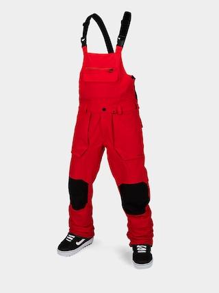 Snowboardovu00e9 nohavice Volcom Roan Bib Overall (red)