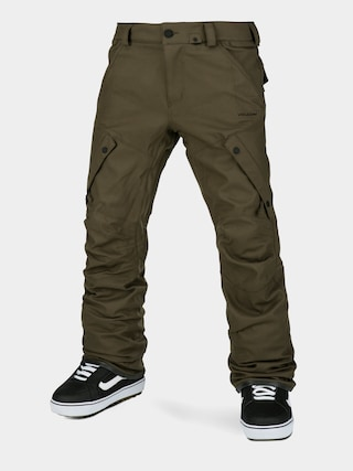 Snowboardovu00e9 nohavice Volcom Articulated (black military)