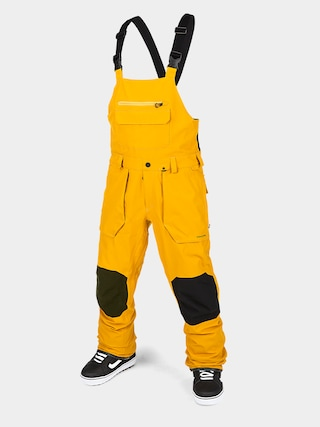 Snowboardovu00e9 nohavice Volcom Roan Bib Overall (resin gold)