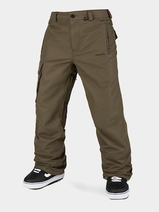 Snowboardovu00e9 nohavice Volcom V Co Hunter (dark teak)