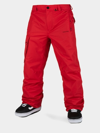 Snowboardovu00e9 nohavice Volcom V Co Hunter (red)