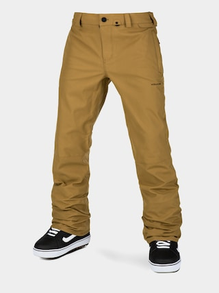 Snowboardovu00e9 nohavice Volcom Klocker Tight (burnt khaki)