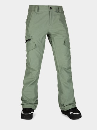 Snowboardovu00e9 nohavice Volcom Aston Gore Tex Wmn (dusty green)