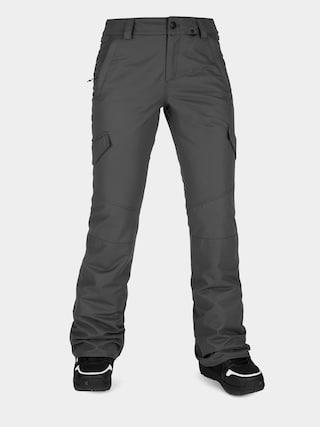 Snowboardové nohavice Volcom Bridger Ins Wmn (dark grey)