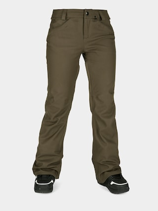 Snowboardovu00e9 nohavice Volcom Species Stretch Wmn (black military)