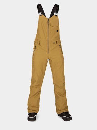 Snowboardovu00e9 nohavice Volcom Swift Bib Overall Wmn (burnt khaki)