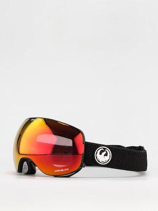 Snowboardovu00e9 okuliare Dragon X2 (split/ll red ion/ll light rose)
