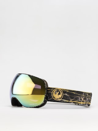 Snowboardovu00e9 okuliare Dragon X2 (14 karat/ll gold ion/ll amber)