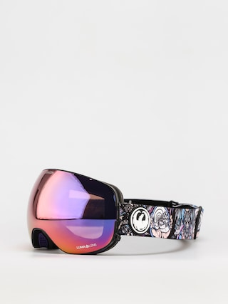 Snowboardovu00e9 okuliare Dragon X2 (schoph dap 20 /ll purple ion/ll amber)