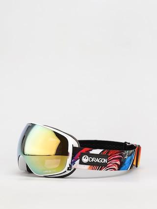 Snowboardovu00e9 okuliare Dragon X2s (hot duck/ll gold ion/ll yellow)