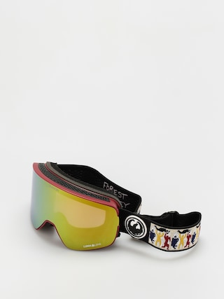 Snowboardovu00e9 okuliare Dragon NFX2 (forest sig 20/ll gold ion/ll yellow)