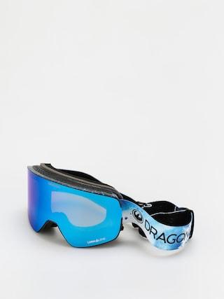 Snowboardovu00e9 okuliare Dragon NFX2 (permafrost/ll blue ion/ll amber)