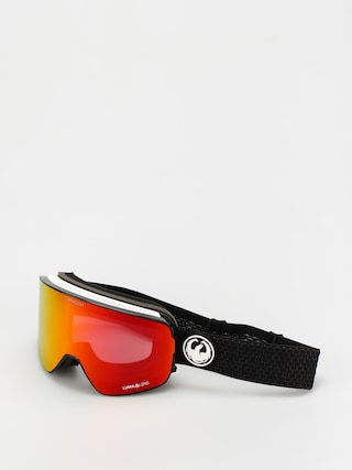 Snowboardovu00e9 okuliare Dragon NFX2 (split/ll red ion/ll light rose)