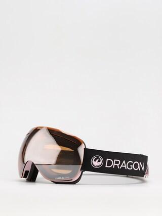Snowboardovu00e9 okuliare Dragon X1S (sakura/ll silver ion/ll rose)