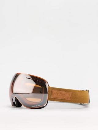 Snowboardovu00e9 okuliare Dragon X1 (coyote/ll silver ion/ll violet)