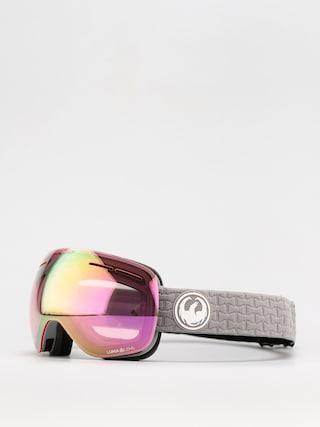 Snowboardové okuliare Dragon X1S (cool grey/ll pink ion/ll dark smoke)