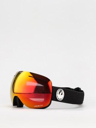 Snowboardovu00e9 okuliare Dragon X1 (split/ll red ion/ll light rose)