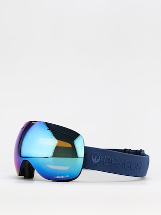 Snowboardovu00e9 okuliare Dragon X1 (navy/ll blue ion/ll amber)
