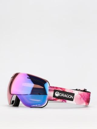 Snowboardovu00e9 okuliare Dragon X1S (merlot/ll purple ion/ll light rose)