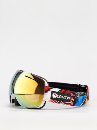 Snowboardovu00e9 okuliare Dragon X1S (hot duck/ll gold ion/ll yellow)