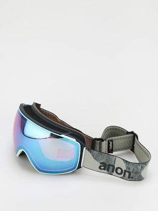 Snowboardovu00e9 okuliare Anon M4 Toric Mfi (ty williams/perceive variable blue)