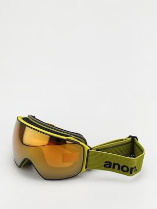Snowboardovu00e9 okuliare Anon M4 Toric Mfi (green/perceive sunny bronze)