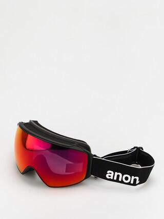 Snowboardovu00e9 okuliare Anon M4 Toric Mfi (black/perceive sunny red)