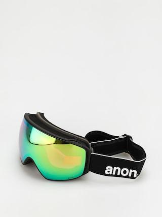 Snowboardovu00e9 okuliare Anon M4 Toric Mfi (black/perceive variable green)