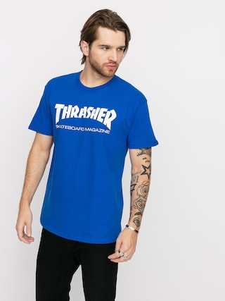 Tričko Thrasher Skate Mag (royal)