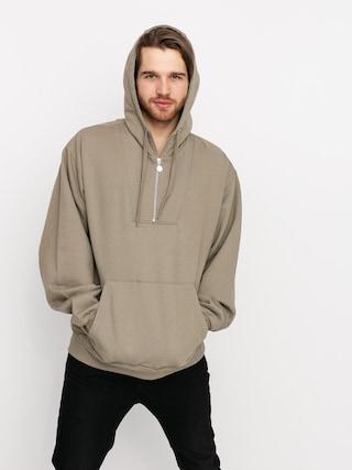 Mikina s kapucu0148ou Polar Skate Half Zip HD (warm grey)