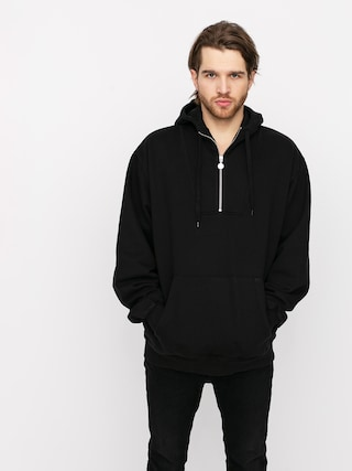Mikina s kapucu0148ou Polar Skate Half Zip HD (black)