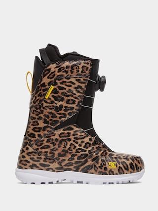 Obuv na snowboard DC Search Wmn (leopard print)