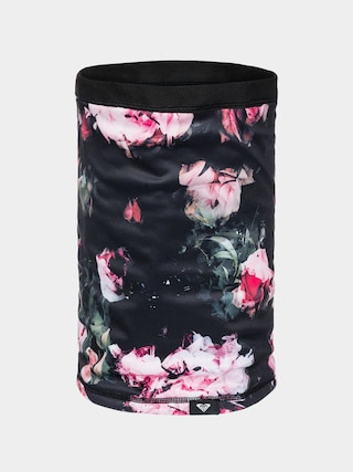 u0160u00e1l Roxy Ocieplacz Lana Wmn (true black blooming party)