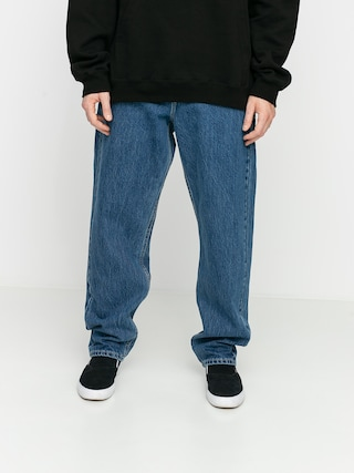 Nohavice MassDnm Craft Jeans Baggy Fit (blue)