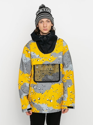 Snowboardová bunda DC Asap Anorak (chocolate chip lemon chro camo)