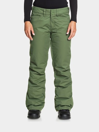 Snowboardovu00e9 nohavice Roxy Backyard Wmn (bronze green)