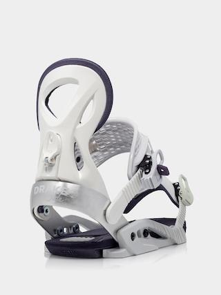 Snowboardovu00e9 viazanie Drake Jade Wmn (white)