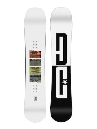 Snowboard DC Emb (white/white/black)