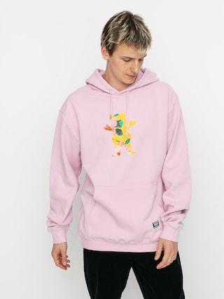 Mikina s kapucu0148ou Grizzly Griptape Blossom HD (pink)