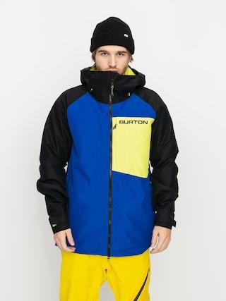 Snowboardovu00e1 bunda Burton Gore Tex Radial Insulated (lapis blue/true black/limeade)