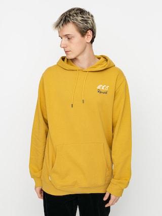 Mikina s kapucňou Rip Curl Swc HD (mustard)