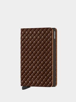 Peňaženka Secrid Slimwallet (basket brown)