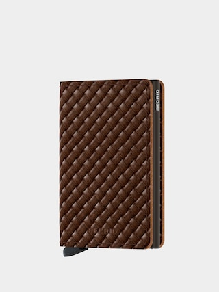 Peu0148au017eenka Secrid Slimwallet (basket brown)