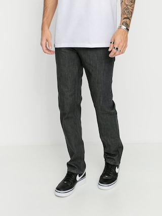 Nohavice Volcom Solver Denim (dark grey)