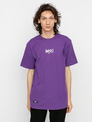 Tričko MassDnm Signature Small Logo (purple)