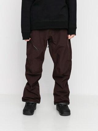 Snowboardové nohavice Volcom L Gore Tex (black red)