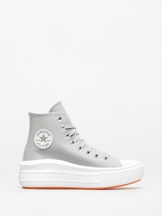 Topu00e1nky Converse Chuck Taylor All Star Move Wmn (grey/white)