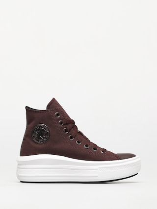 Topu00e1nky Converse Chuck Taylor All Star Move Wmn (black currant/black/white)