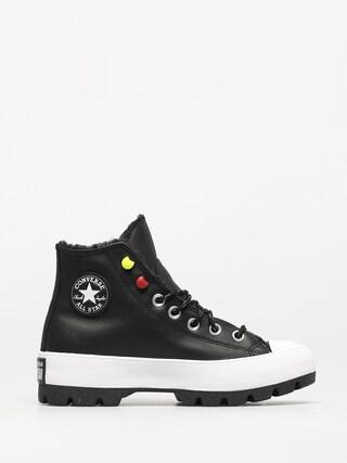 Topu00e1nky Converse Chuck Taylor All Star Lugged Winter Wmn (black/black/white)